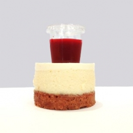 Cheese Cake Coulis Framboise